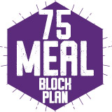75 Meal Block Plan